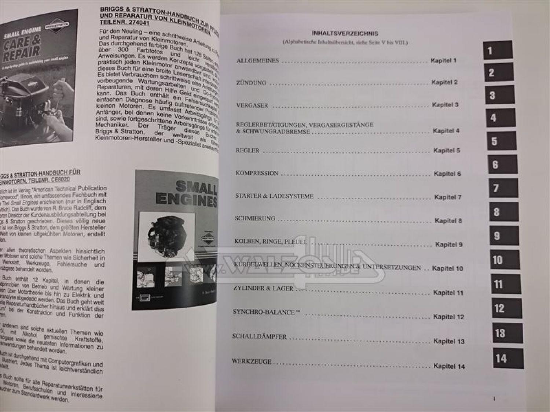 briggs stratton 272945 reparaturhandbuch einzylinder. Black Bedroom Furniture Sets. Home Design Ideas