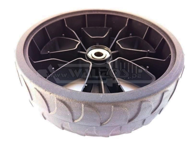 200 mm Reifen Rad AL-KO 462670-12 mm Achse Alko Rasenmäher Kunststoffrad