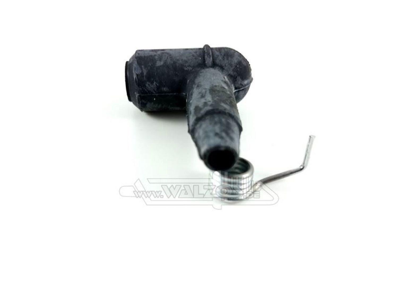 2 Stk Verschlußkappen 75 mm Rohrkappen schwarz Pfostenkappe Abdeckappen sw