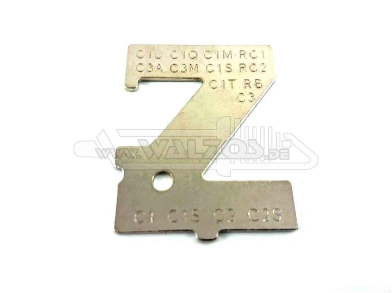 Einstelllehre Werkzeug passend für ZAMA Vergaser Metering Lever Height Gauge