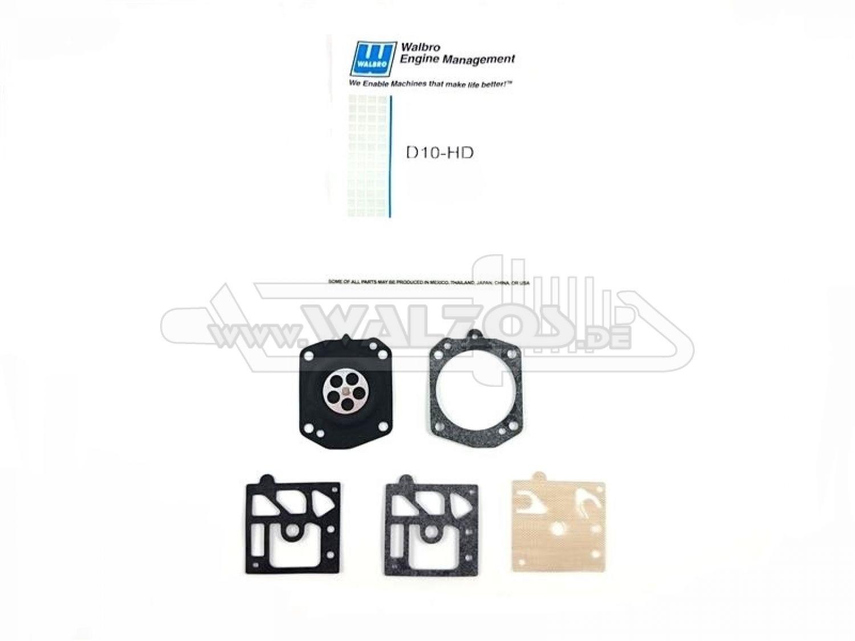 Walbro Membransatz für Stihl MS270 MS 270 280 carburator diaphragm kit