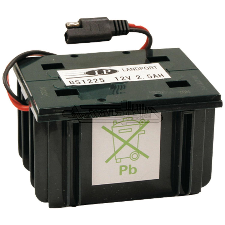 12V 2,5 A Batterie Akku für Sabo Alko Wolf Tecumseh Stiga Dolmar Rasenmäher Accu