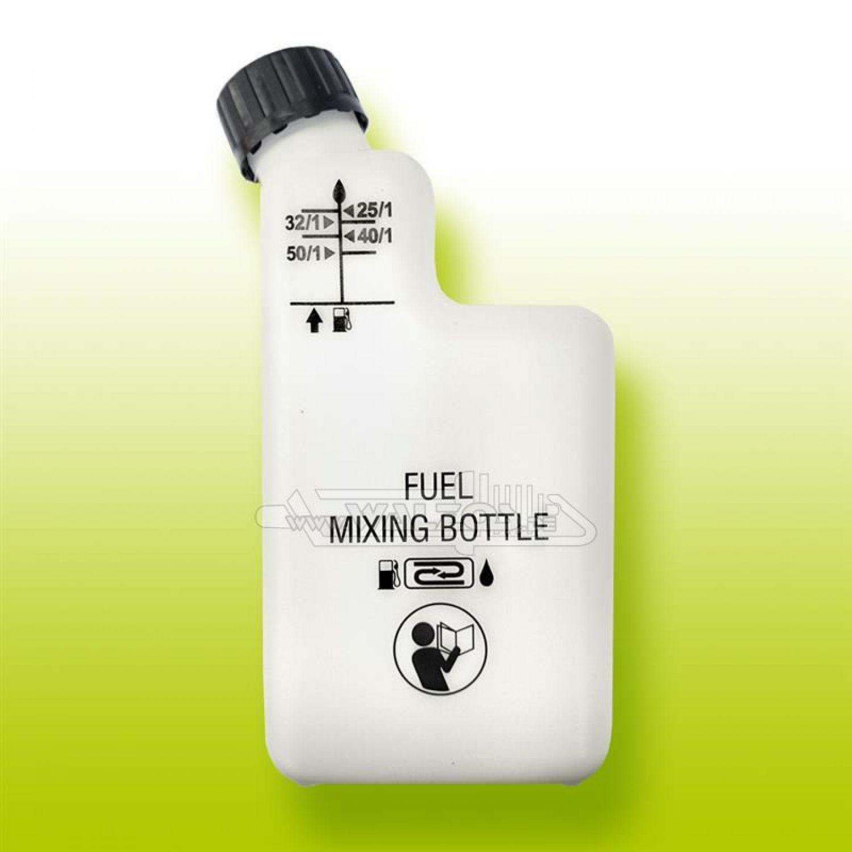 Mischbehälter Mischflasche 2 Takt 2x Mischflasche für 2-Takt-Gemische