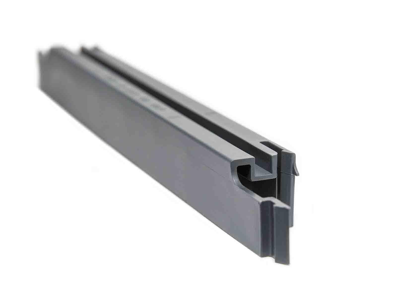 Steckprofil F Sichtschutzstreifen Ral7016 Anthrazit Sichtschutz