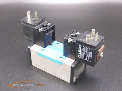 Festo JMN1H-5/2-D-1-C Magnetventil 159690 mit MSN1G-24V Magnetspule ...