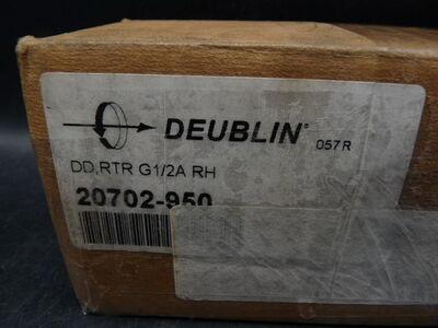 Deublin dd rtr g1//2a Rh giratoria-ejecución 20702-950 /> sin usar /<