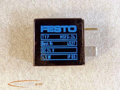 Festo MSFG-24 Magnetspule 24 V 4,5 W / 4527 | eBay