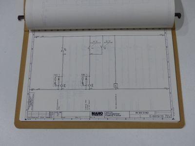 Maho Schaltpläne für MH 600 E / 462 | eBay