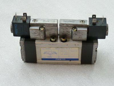 Festo MFH-5/3G-1/4-D-1 Pneumatik Magnetventil Typ 10 896 mit ...