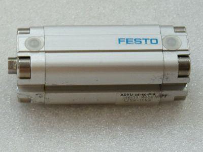 Festo advu 20-25-p-a 156518 CILINDRO Compatto Potenza idraulica 1a02 NUOVO