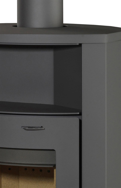 kaminofen thermia hamburg v1 7kw grau stahl automatik heizofen kamin dauerbrand ebay. Black Bedroom Furniture Sets. Home Design Ideas