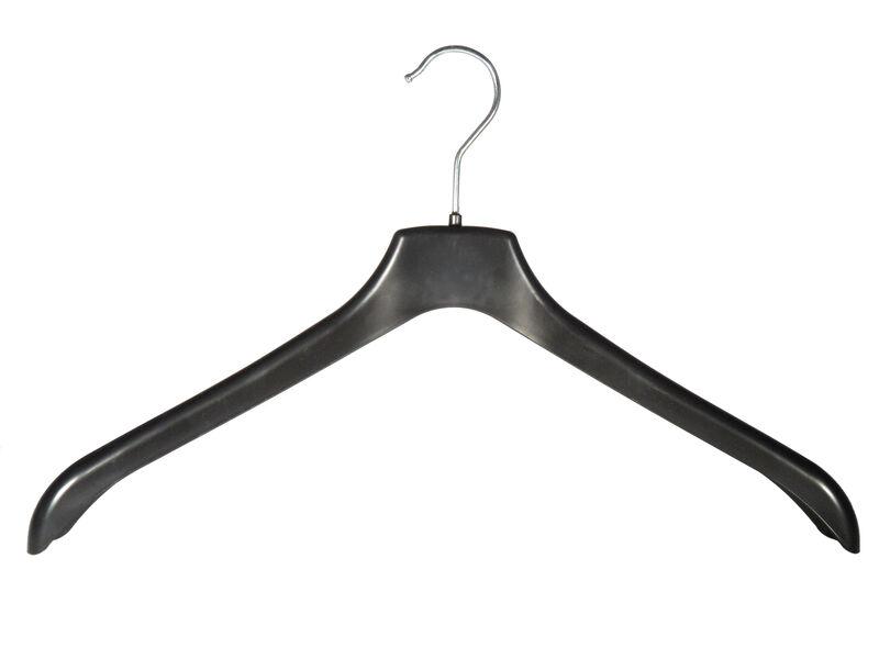 Bügel Kleiderbügel Blusenbügel Plastikbügel schwarz seiden 10 Stück Elegance geb