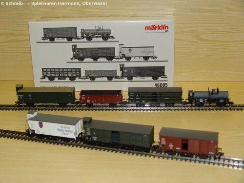 7er Güterwagen-Set Bayern DR zu 39550//39551 Märklin H0-46085 Neuware