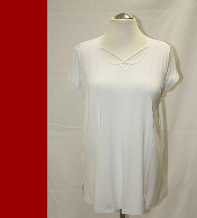 XXL 48-56 A-Linie NEU Gr schwarz weiß fuchsia  Jersey KJ BRAND Shirt