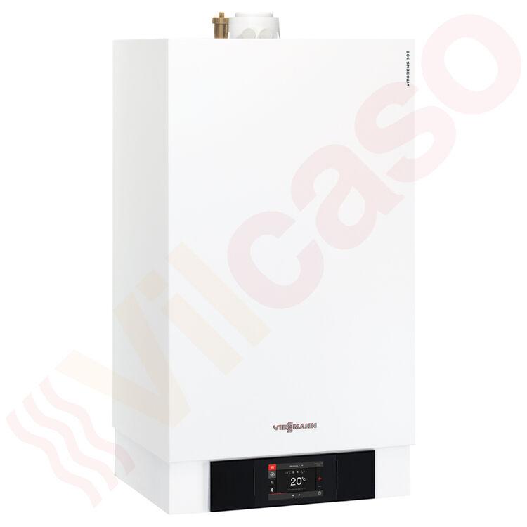 Plus+Paket Gas-Brennwerttherme Viessmann Vitodens 300-W 19,0 kW Speicher TU-TWS