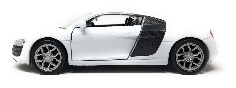 Welly Modellauto Audi R8 V10 Original Lizenz Auto Rennwagen 1:38 Sportwagen