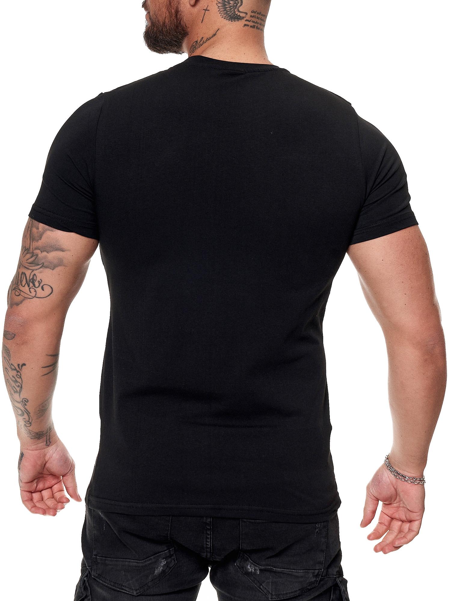 Herren T Shirt Poloshirt Polo Longsleeve Kurzarm Shirt
