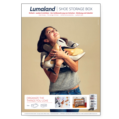 Indexbild 45 - Schuhbox Schuh Organizer Schuhschrank transparent  Schuhaufbewahrung Schuhkarton