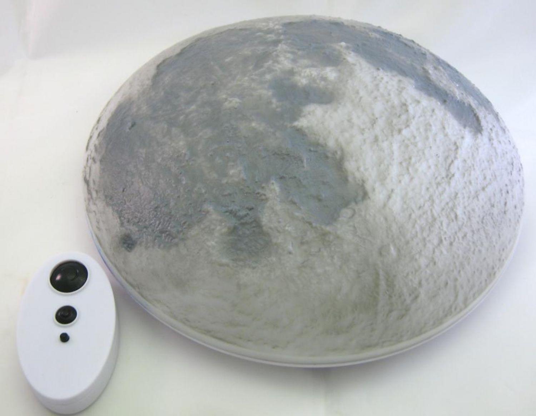 Mondlampe Mondleuchte Kinderleuchte mit Fernbedienung ideal für das ...