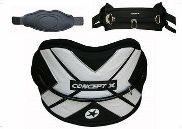 Weiterer Wassersport Bars XL Concept X Kite Hüft Trapez Waist Harness Kitesurfing Gr