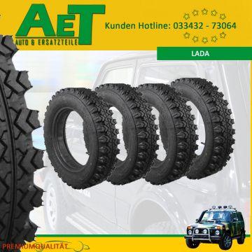4x Lada Niva 4x4 2121 neumáticos galerías neumáticos-voltyre vli 5-175//80//16 top!!!