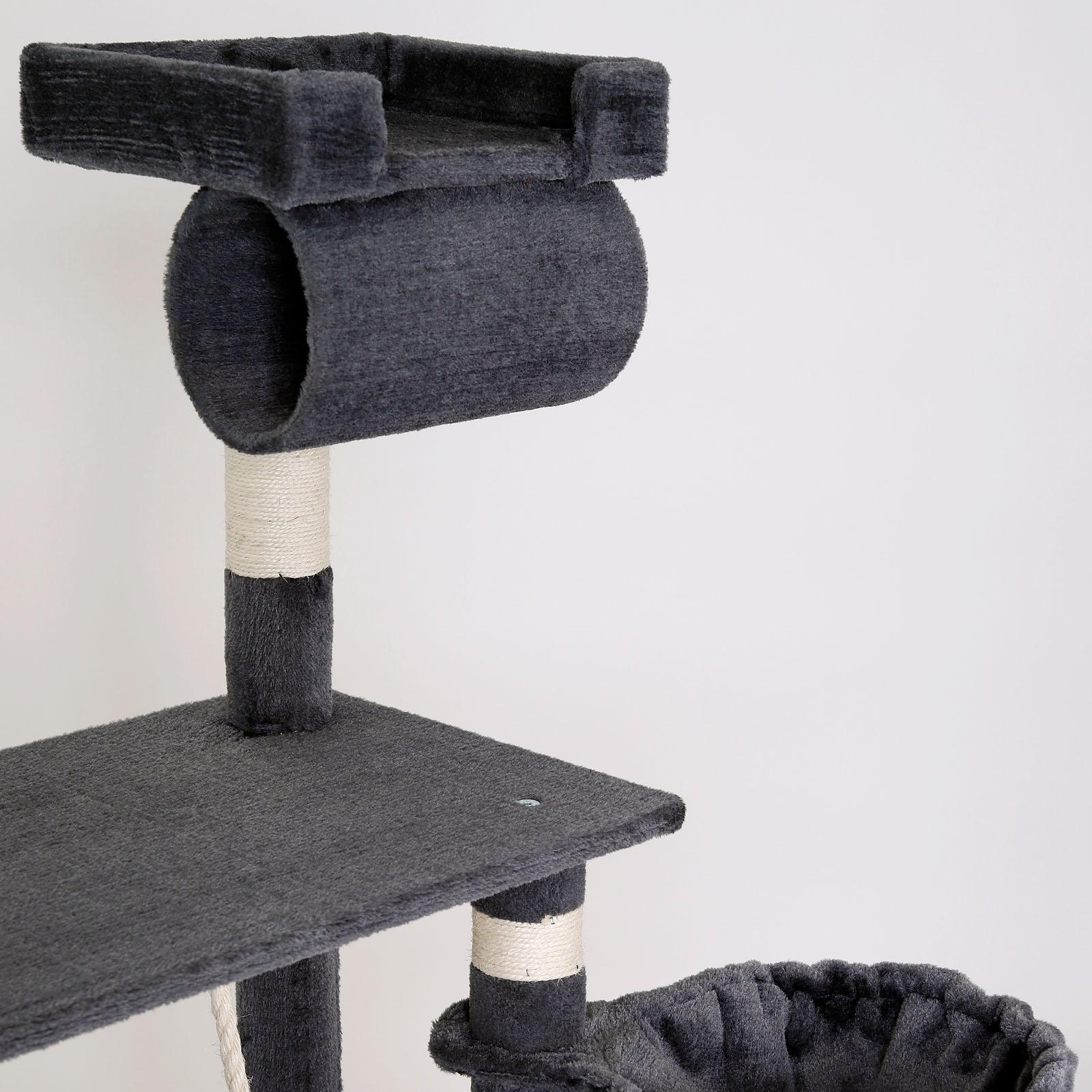 kratzbaum katzenkratzbaum kletterbaum f r katzen katzenbaum extra breit ebay. Black Bedroom Furniture Sets. Home Design Ideas