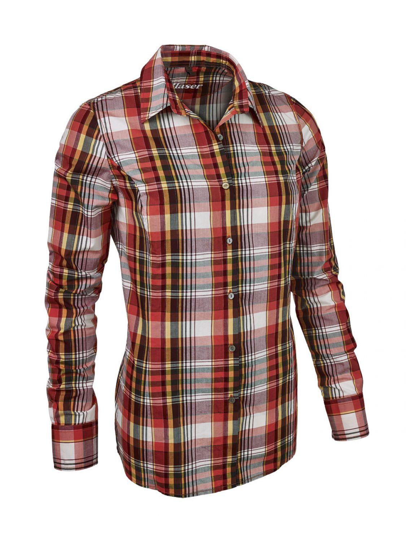 Blaser Damen Flanell Bluse Odda Jagdbluse Shirt Lady Outdoor Jagd Freizeit  Hunt