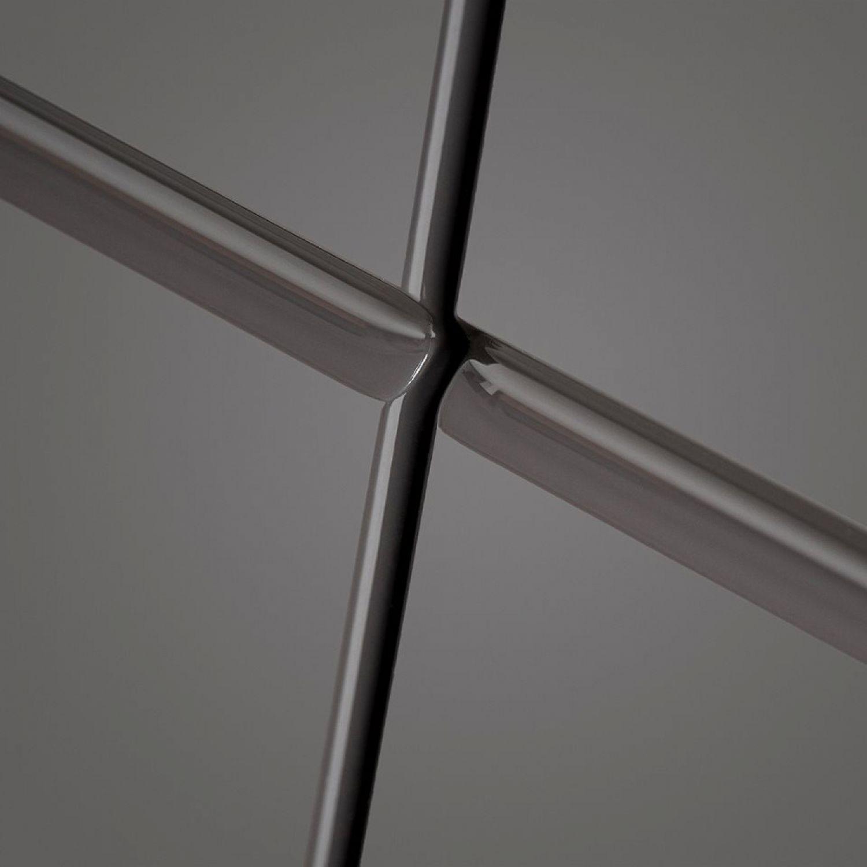 Standfüßen Hochglanz grau Badmöbel Badezimmer Waschtischunterschrank 80 cm inkl