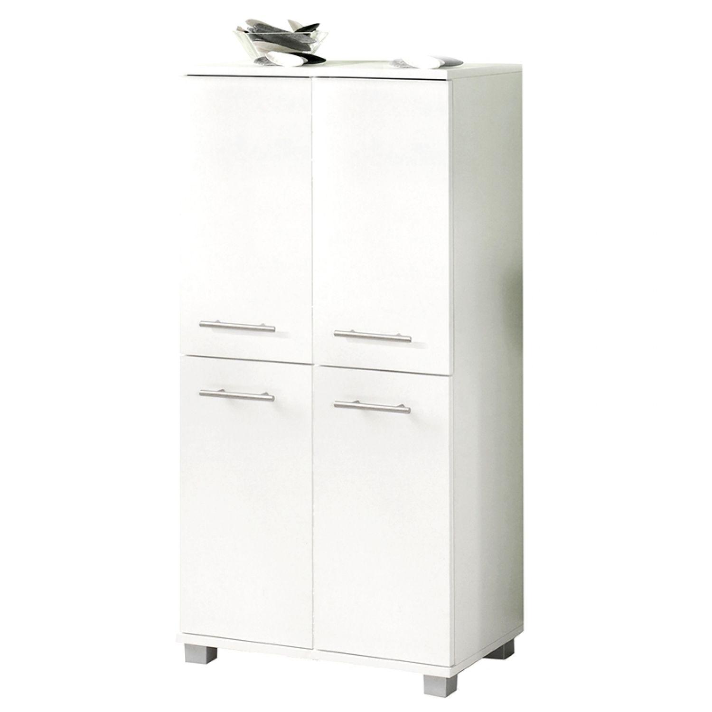 badezimmer highboard weiß badmöbel schrank badschrank