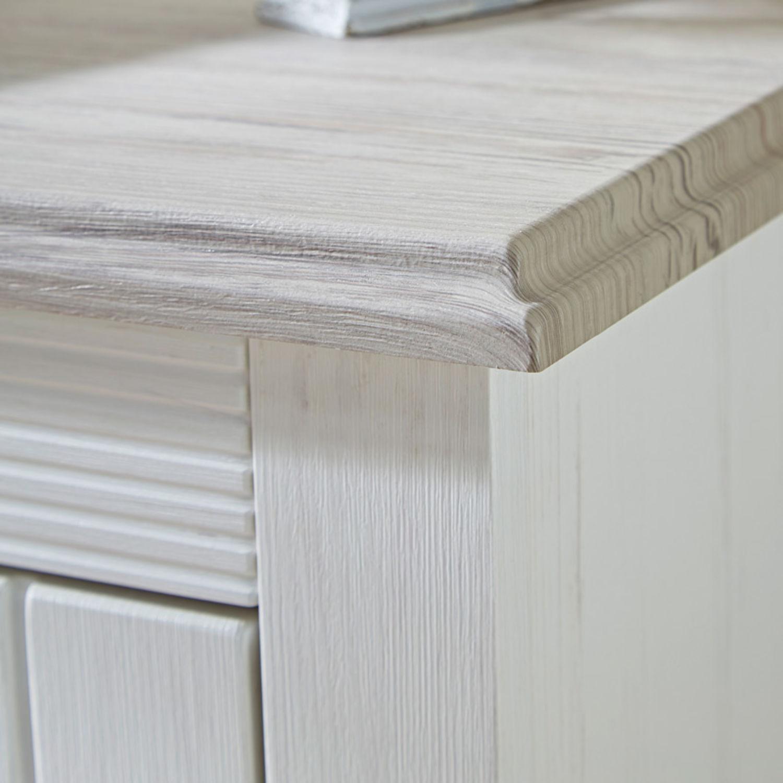 Details Zu Dielenmöbel Set Landhaus Sitzbank Garderobenschrank Paneel Schuh Kommode In Weiß