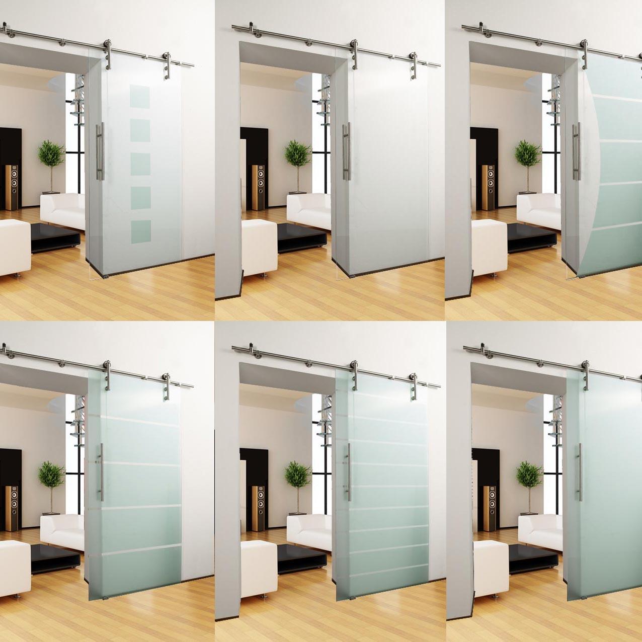 Portes Coulissantes Vitrées Intérieures détails sur porte vitrée coulissante set ouvert essayage portière en verre  intérieure