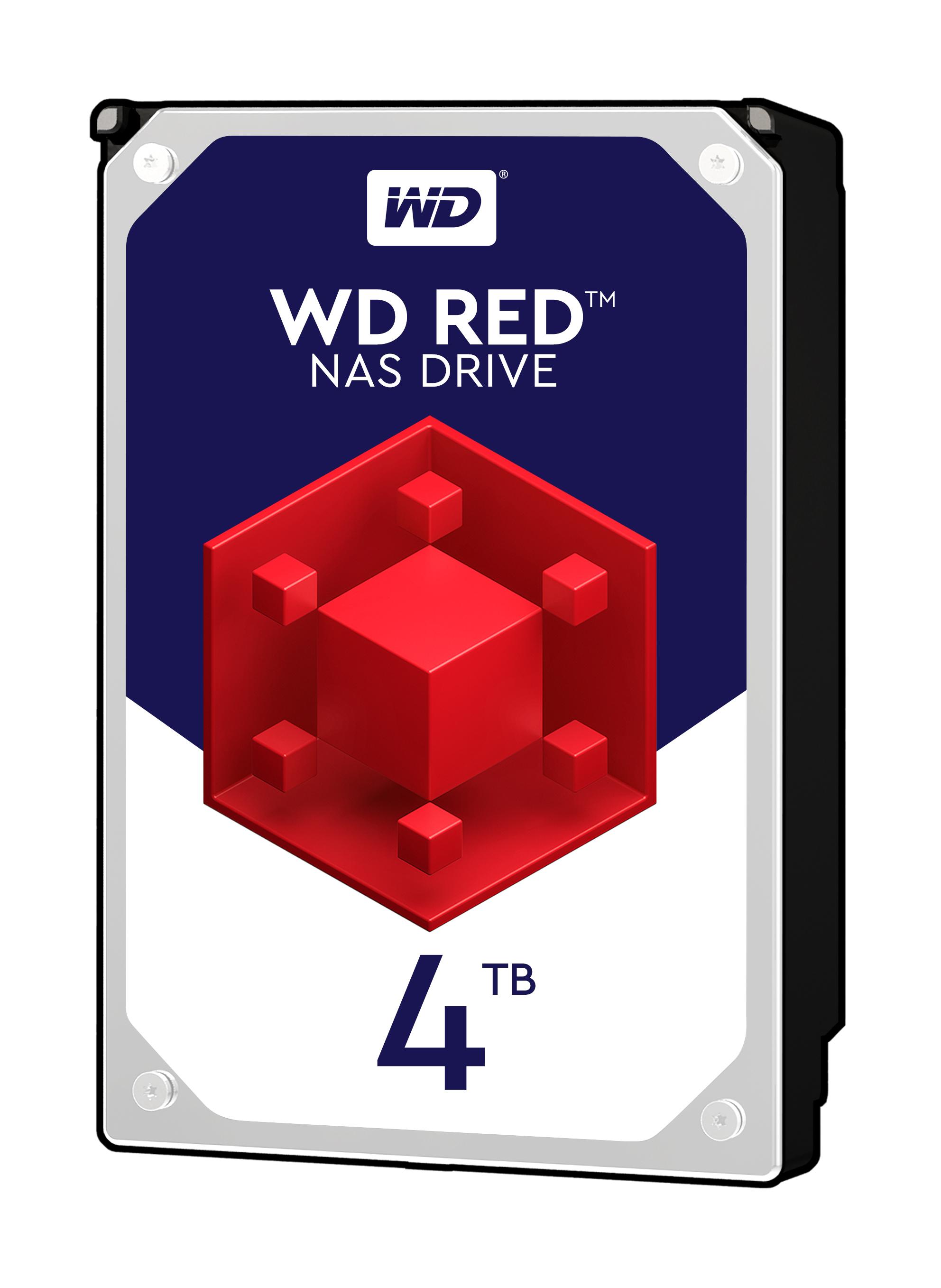"""Western Digital WD Red 4TB 4000GB 3.5"""" SATA 6Gb/s WD40EFRX NAS HDD Festplatte"""
