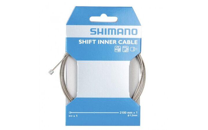 Shimano Schaltzug Edelstahl 1,2*2100 mm NEU