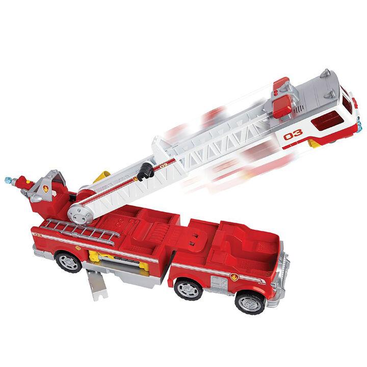 Paw Patrol Marshall ULTIMATE rescue vigili del fuoco auto con Capo Girevole Spinmaster