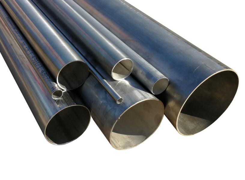 diametro da 50 mm x 500 mm di lunghezza Tubo in acciaio inox V2A tubo di scarico 1.4301