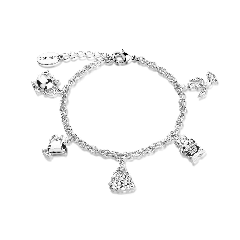 Goebel Couture Kingdom Schneewittchen Charm Armband Arm Band Schmuck Weißgold