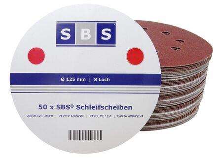 Klett//Haft System 75 Blatt Exzenter Schleifpapier /Ø125 mm 8 Loch Korn 240 f/ür Holz und Metall Exzenterschleifer Schleifscheiben Exzenterschleifpapier