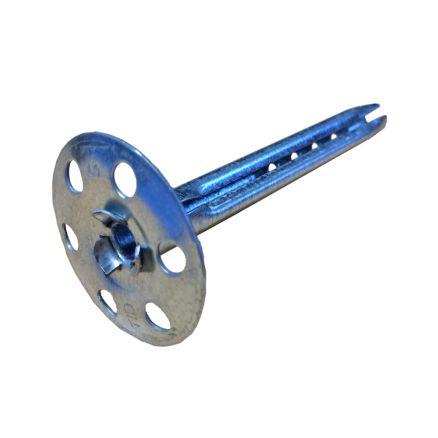 SBS® Tellerdübel ø 8mm Längen 60//80//110//140//170 mm Metall-Teller-Dübel Dämmstoff