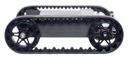Black 3mm D-Shafts PO3033 Pololu 30T Track Set