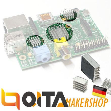 QITA Raspberry Pi Kühler Cooler Kühlkörper 3 Stk RP02004