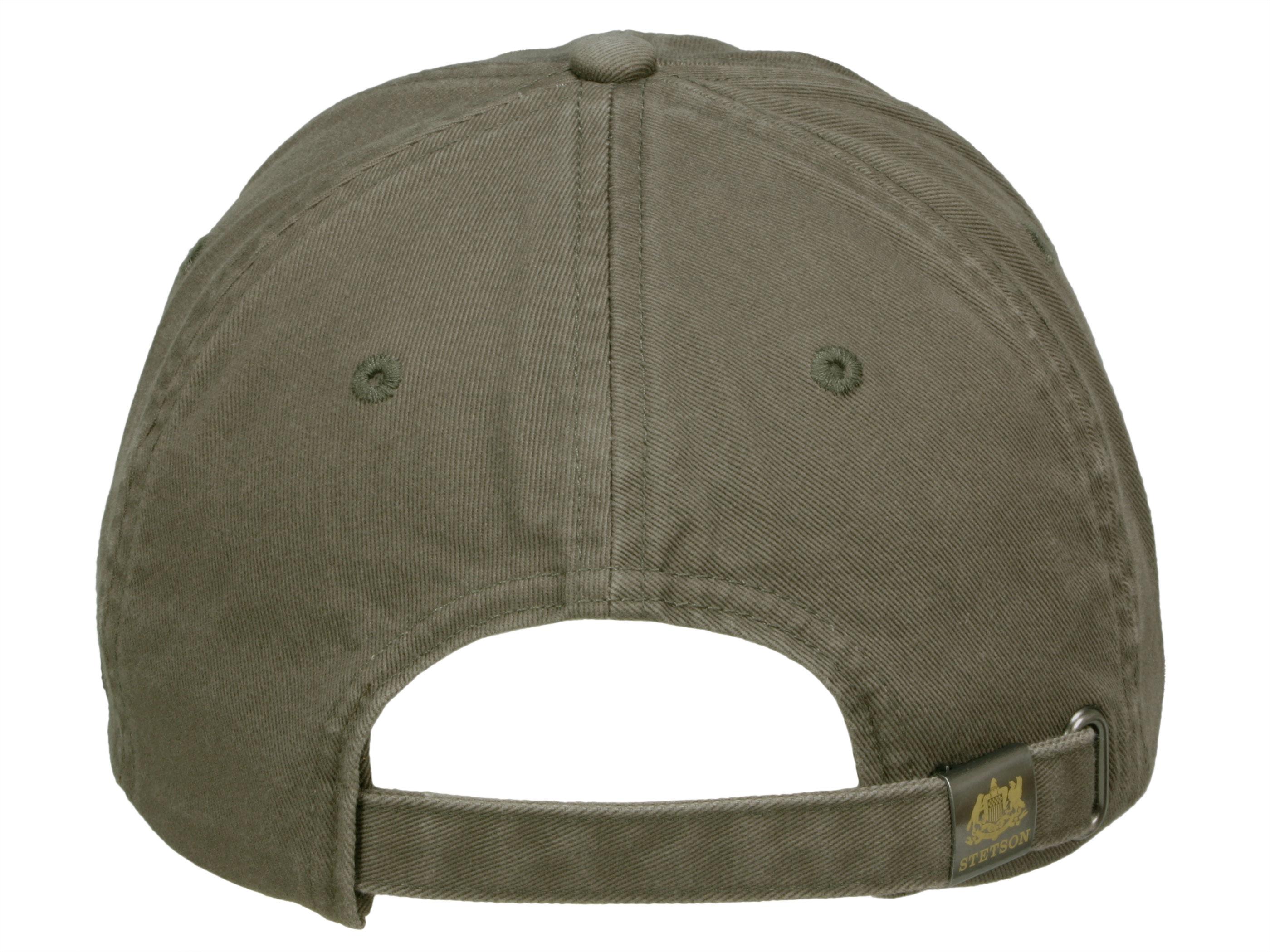 Stetson Amherst Baseballcap Flex Cap UV-Schutz Baumwolle Basecap Schirmmütze