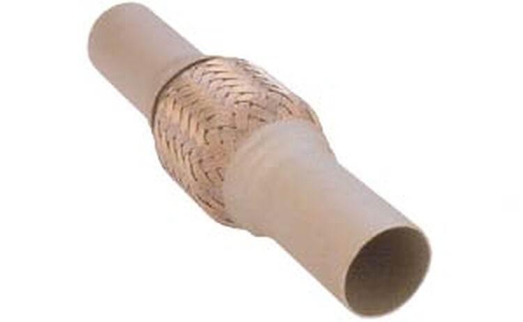 Flexrohr Flexibles Auspuffrohr Abgasrohr Hosenrohr Innenverstärkt Ø 55,5 L 250mm