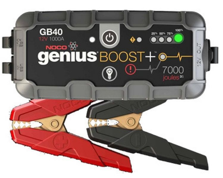 noco genius boost gb40 jump starter batterie starthilfe. Black Bedroom Furniture Sets. Home Design Ideas
