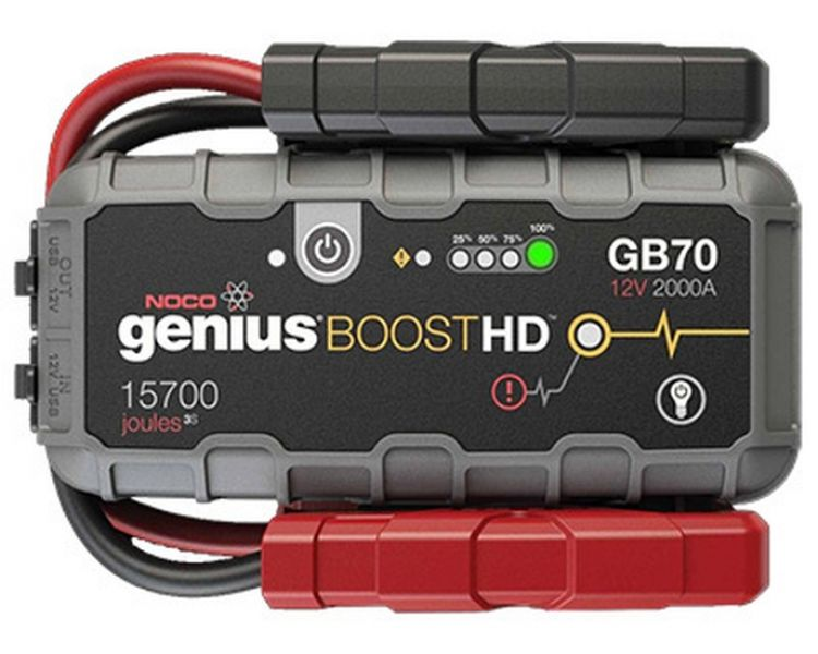 noco genius boost gb70 jump starter batterie starthilfe. Black Bedroom Furniture Sets. Home Design Ideas