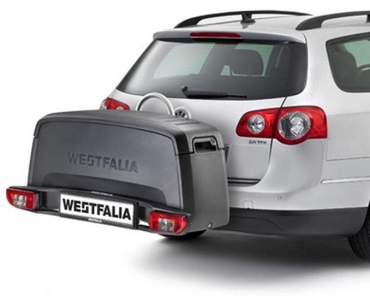 westfalia transportbox f r fahrradtr ger bc60 bc70. Black Bedroom Furniture Sets. Home Design Ideas