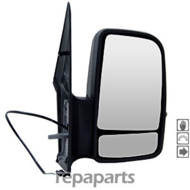 VW Crafter AuCo Außenspiegel Links Manuell mit Blinklicht für MB Sprinter W906