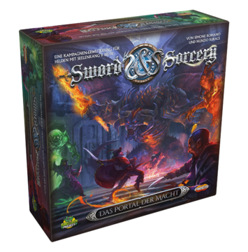 Sword /& Sorcery Deutsch Brettspiel *NEU /& OVP* Grundspiel
