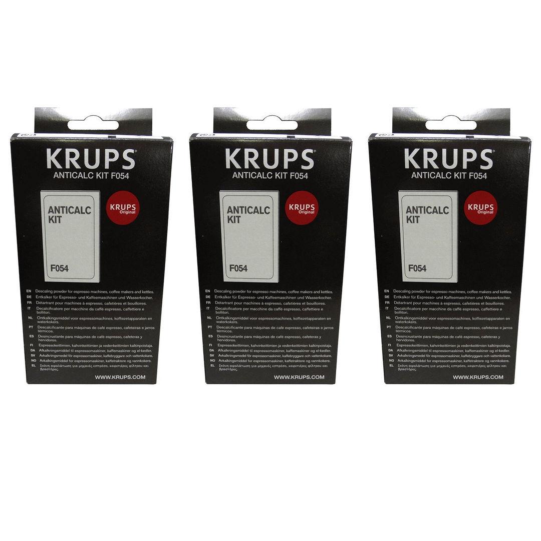 3 x KRUPS Kit Anticalc f054