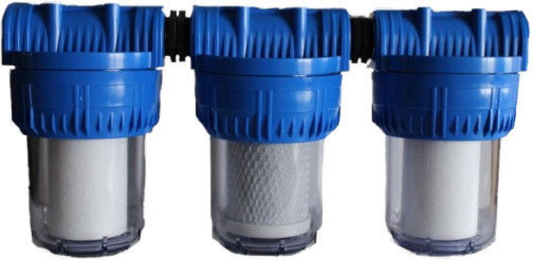 """Filter Aquintos DUO-System für Hauswasserwerke 5/"""" IG 1//2/"""" inkl"""