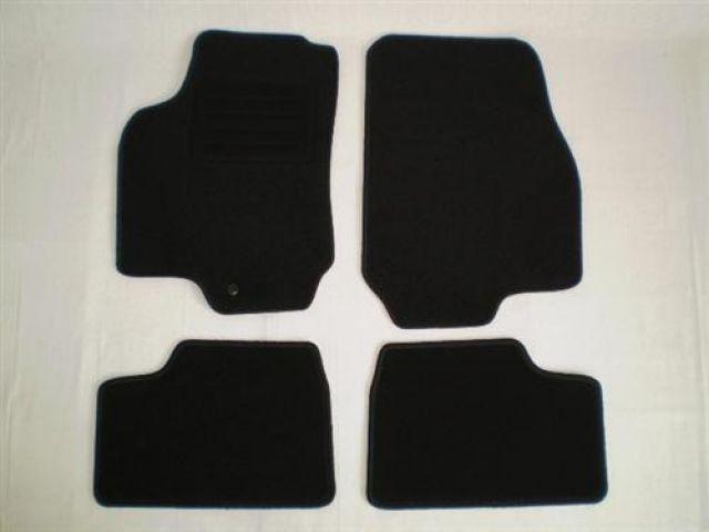 Für Opel Astra G Coupe Fußmatten 4-teilig in Velours Deluxe weinrot
